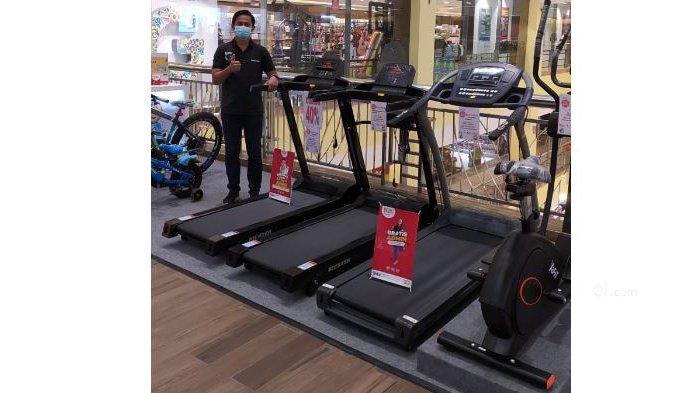 Alat Olahraga Treadmill Diskon 40 Persen di Gramedia Mal SKA