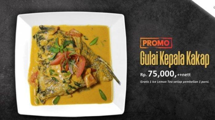 Sedapnya Gulai Kepala Kakap Plus Lemon Tea di Grand Elite Hotel Pekanbaru, Hanya Rp 75 Ribu