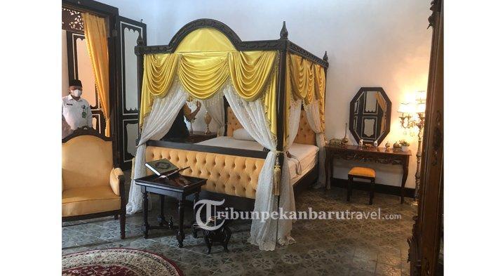 Istana Peraduan Siak Segera Dibuka, Pengunjung Bisa Melihat Replika Ranjang Sultan Syarif Kasim II