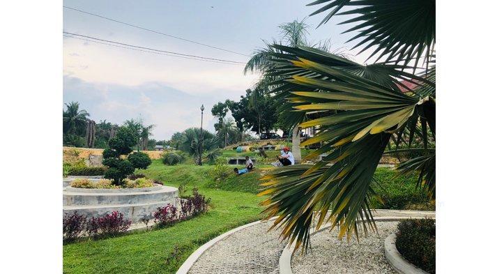 Taman Sri Mayang Telaga Samsam Kandis, Tempat Bersantai Keluarga yang Kini Jadi Primadona