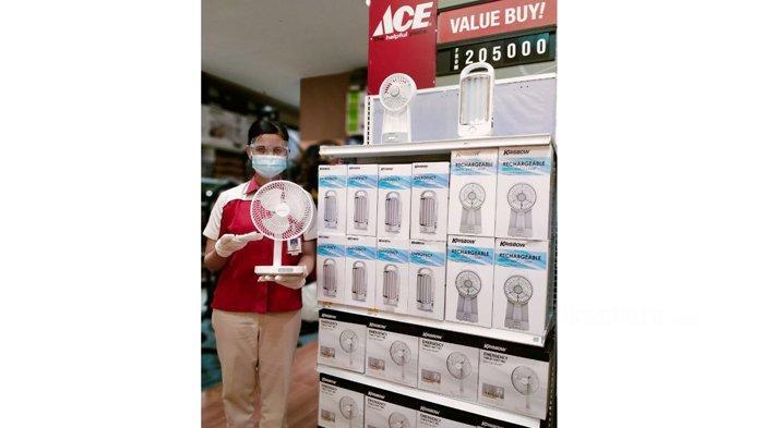 Ace Hardware Mal Pekanbaru Berikan Promo Untuk Emergency Lamp