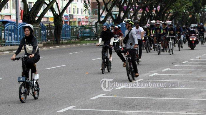 Bisnis Sepeda Meningkat Sejak Pandemi Covid-19 di Pekanbaru
