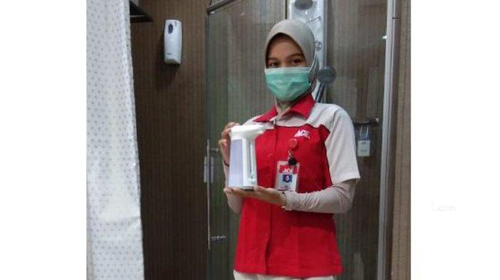 Cegah Penyebaran Covid dengan Dispenser Sabun Cair Otomatis, Bisa Juga Diisi Hand Sanitizer