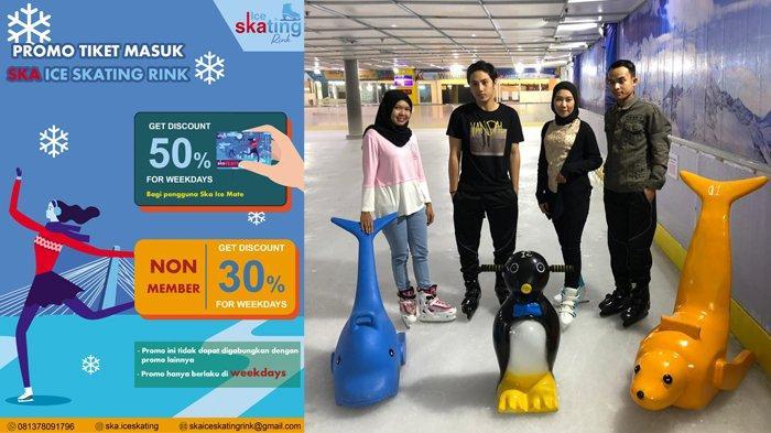 SKA Ice Skating Rink Berikan Promo Diskon 50 Persen Untuk Member