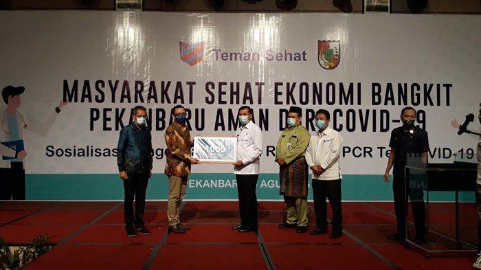 Aplikasi Teman Sehat Resmi Diluncurkan di Pekanbaru