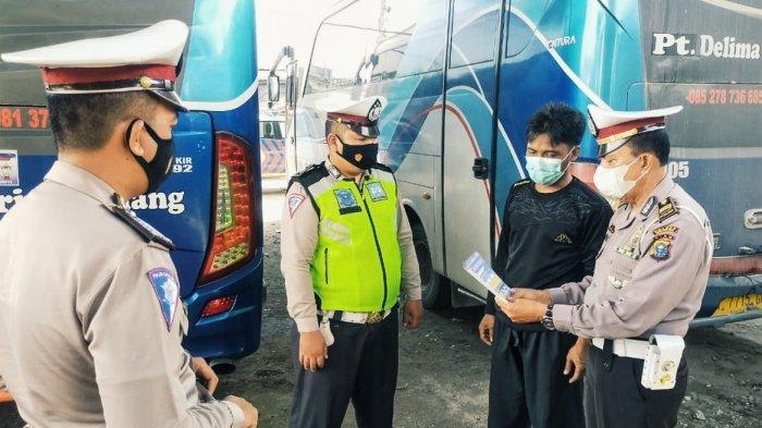 Perusahaan Angkutan Umum di Inhil Dilarang Bawa Penumpang Mudik