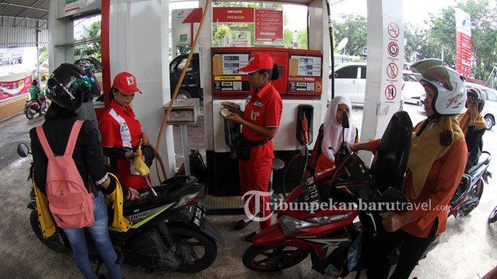 Tidak Seperti Biasanya, Konsumsi BBM di Riau Menurun Saat Suasana Lebaran