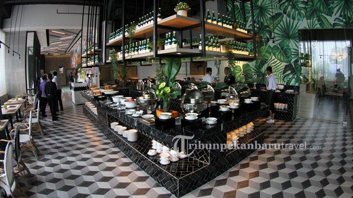 Menu Telang Tea dan Cemilan Bisa Dinikmati Pengunjung di The Zuri Hotel