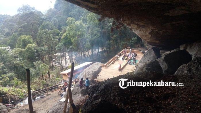 Miliki 9 Pintu Goa dan 27 Titik Air Terjun, Batu Tilam Jadi Objek Wisata Baru di Kampar