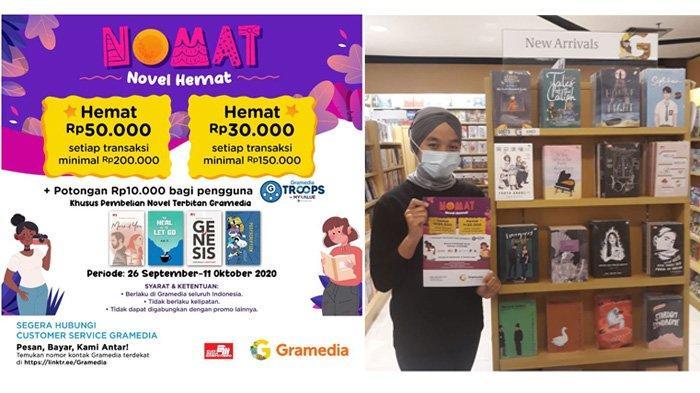 Gramedia Hadirkan Promo Novel Hemat Hingga Bulan Oktober Mendatang