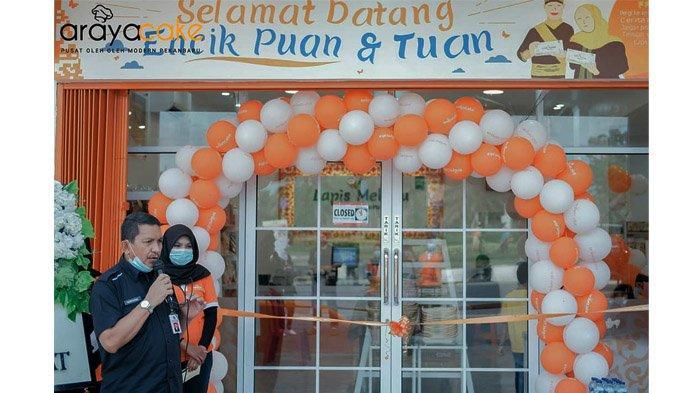 Araya Cake Buka Cabang di Dekat Bandara SSK II, Spesial Menjual Kue Khas Melayu yang Dikemas Modern