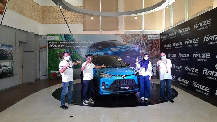 Mobil Toyota Raize Resmi Mengaspal di Riau, Harga Mulai Rp 222.200.000