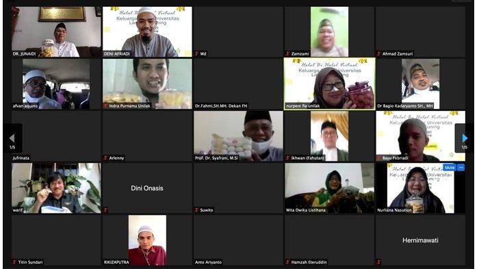 Tetap Jaga Silaturahmi, Unilak Gelar Lebaran Virtual