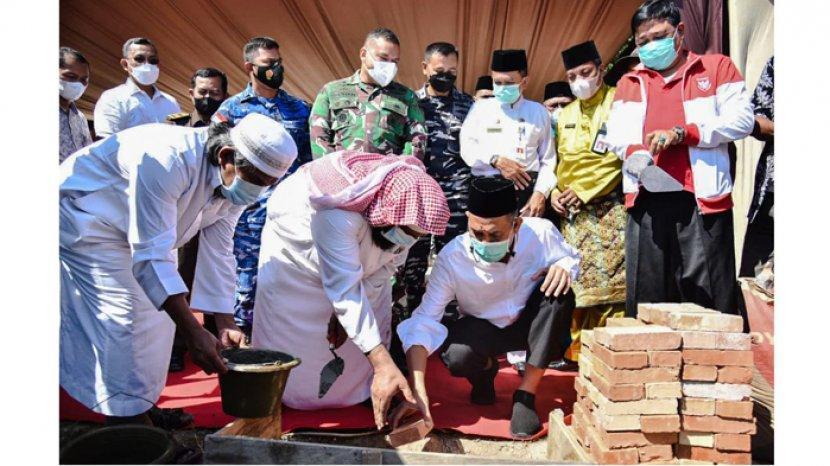 Dumai Akan Memiliki Masjid Terapung di Kawasan Wisata Eco Park Pantai Marina Teluk Makmur