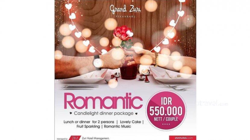 Grand Zuri Hotel Pekanbaru Hadirkan Spesial Promo Romantic Candlelight Dinner Package