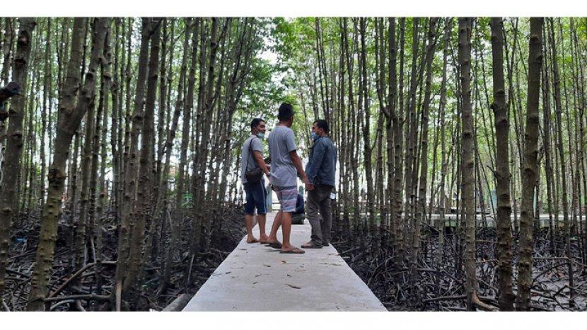Perbaikan Jembatan Susur & Pasar Purbakala, Bandar Bakau Dumai Hadirkan Wajah Baru yang Lebih Fresh