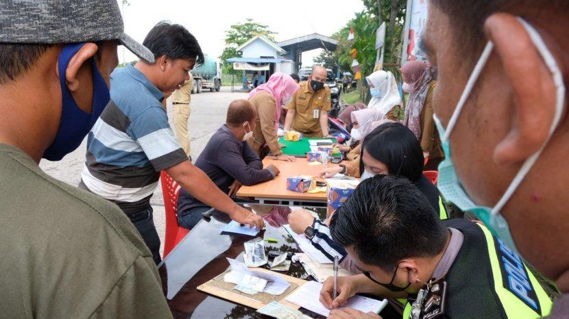 Lebih Persuasif dan Humanis, Bapenda Riau Gelar Penertiban dan Sosialisasi Pajak Kendaraan di Dumai