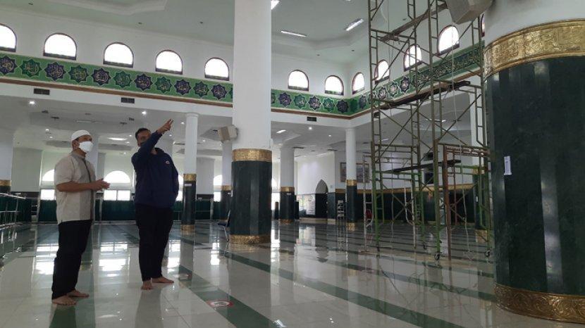 Jamaah Masjid An Nur Wajib Bawa Perlengkapan Salat Sendiri