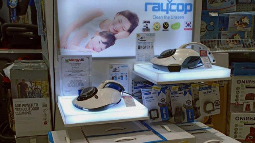 Raycop RS-300 Bersihkan Ruangan dan Bakteri dalam Rumah dengan Cepat