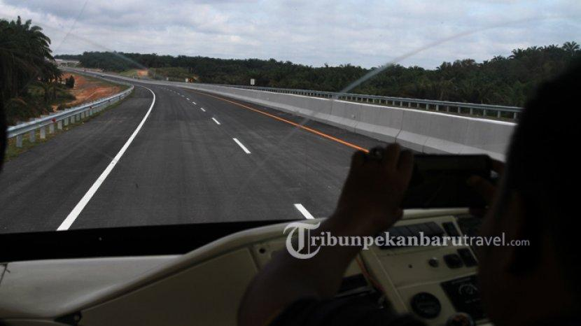 Kembali Terjadi, Kecelakaan di Tol Pekanbaru-DumaI, Dua Orang Penumpang Honda BRV Tewas