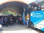 Hampir 2.000 Orang Akses Bus Vaksinasi Covid-19 Keliling di RSD Madani Pekanbaru