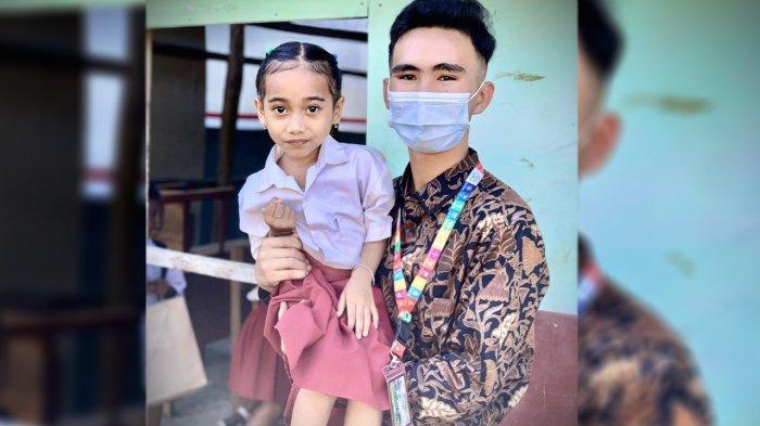 Abdul Naser Parinduri, Remaja Asal Siak Lakukan Program Pengabdian IYA 2021 di NTT