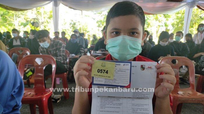 Program Vaksin Anak Usia 12-17 Tahun di Riau Sudah Berlangsung, Begini Syaratnya