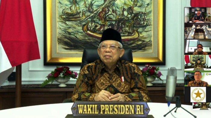 Wakil Presiden Ma'ruf Amin Dukung Percepatan Konversi Bank Riau Kepri Syariah