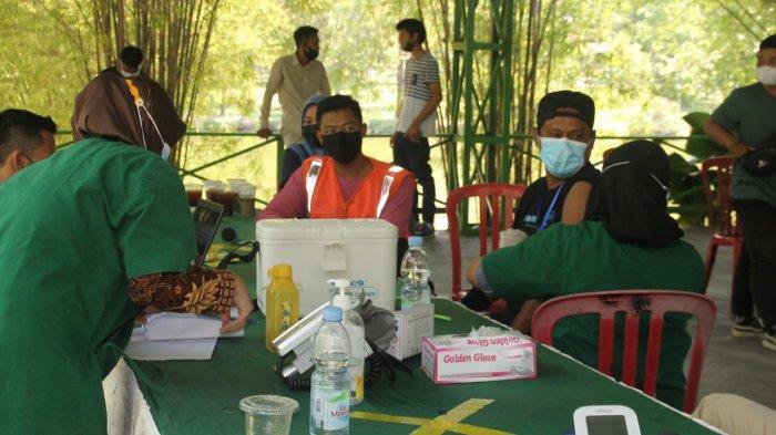 Berwisata Sambil Vaksin Covid-19 di Taman Rekreasi Alam Mayang Pekanbaru