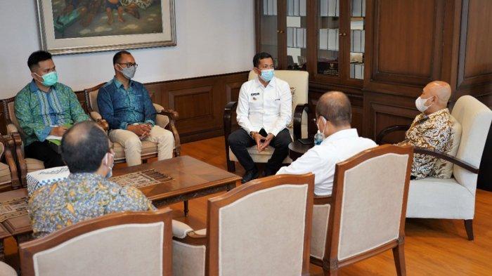Ingin Ada Pusat Pelayanan Usaha Terpadu di Meranti, Bupati Muhammad Adil Temui Menkop UMKM