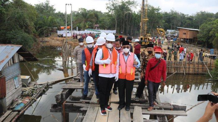 Pemkab Pelalawan Gelontorkan 23,5 Miliar untuk Bangun Jembatan Tambak di Langgam