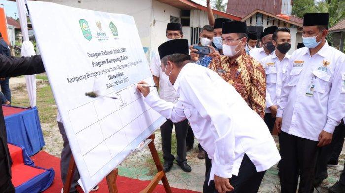 Pemkab Siak Luncurkan Kampung Zakat di Bungaraya, Pertama di Riau