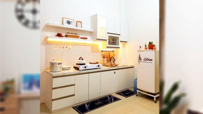 Dapur Minimalis rumah Intan Sugesti