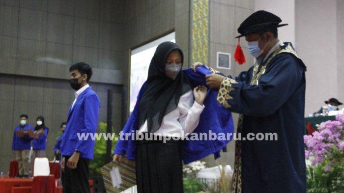 Politeknik Caltex Riau Lantik 509 Mahasiswa Baru Tahun 2021