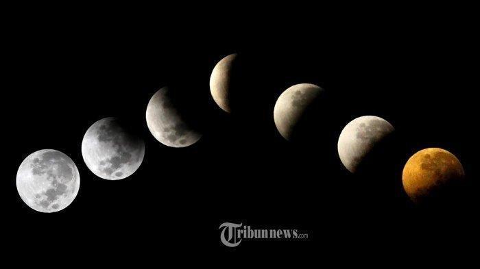 Gerhana Bulan Total akan terjadi pada 26 Mei 2021 dan disebut sebagai Bulan Merah Super atau Super Blood Moon./tribun jabar