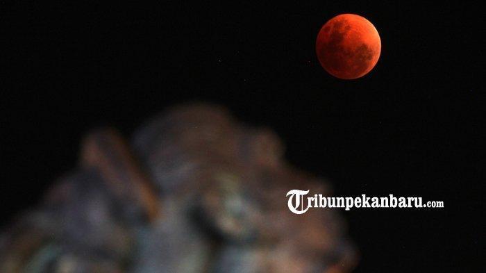Gerhana Bulan Total 26 Mei 2021 Bisa Disaksikan di Riau, Aman Dilihiat dengan Mata Telanjang