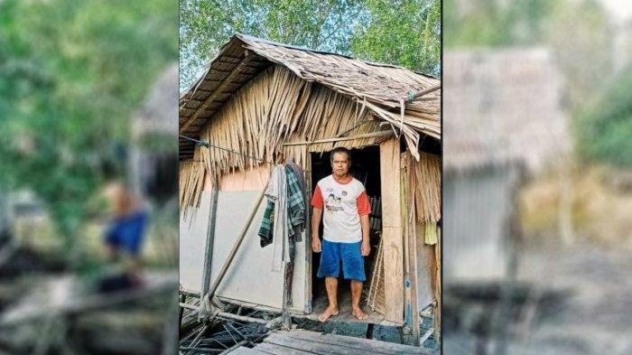 Sedih, Hamar Warga Kabupaten Indragiri Hilir Riau Ini Tinggal di Gubuk Reot