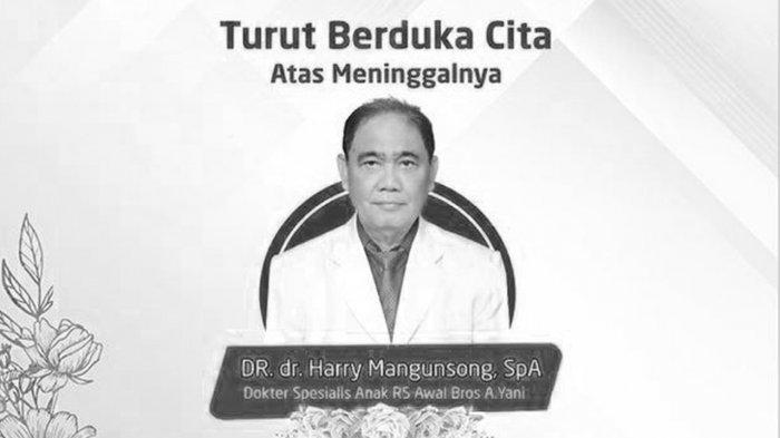 Kabar Duka, Dokter Anak Harry Simangunsong Meninggal Dunia Akibat Covid-19 di RSUD Arifin Ahmad