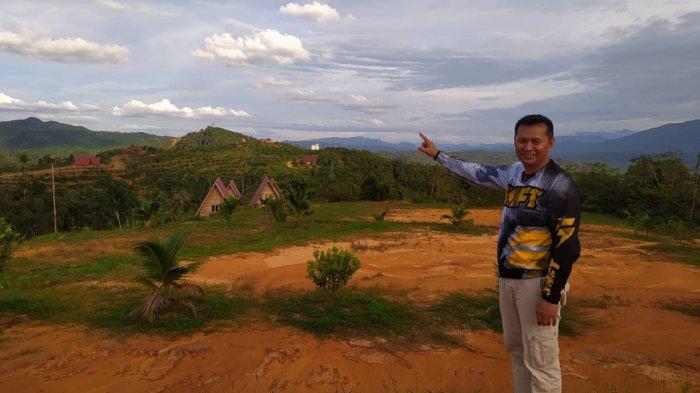 Indahnya Pemandangan di Agro Wisata Bukit Godang Rokan Hulu Riau