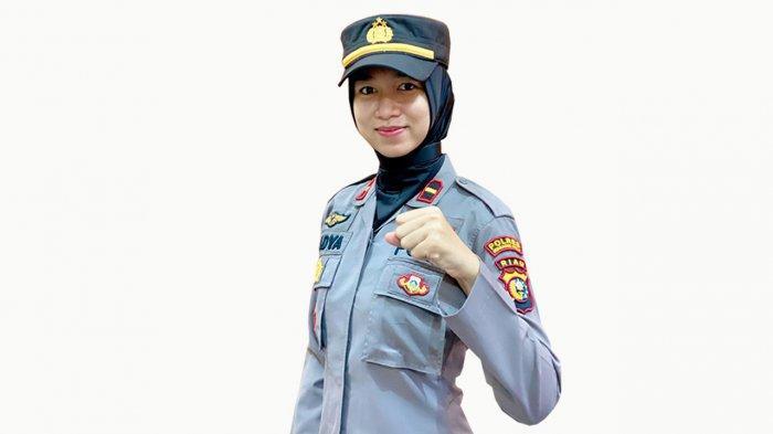 Kisah Ipda Nadya Ayu Nurlia, Kapolsek Cantik dan Termuda di Inhu Riau