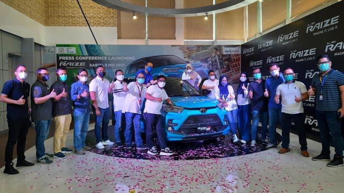 Toyota Raize Resmi Mengaspal di Riau, Optimis Diterima Pecinta Otomotif