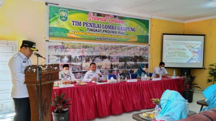 Lomba Kampung, Desa Muara Kelantan Wakili Siak di Tingkat Provinsi