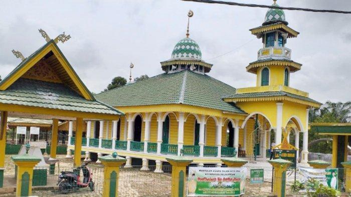 Mesjid Hibbah di Pelalawan Riau, Masjid Bersejarah Berusia 86 Tahun