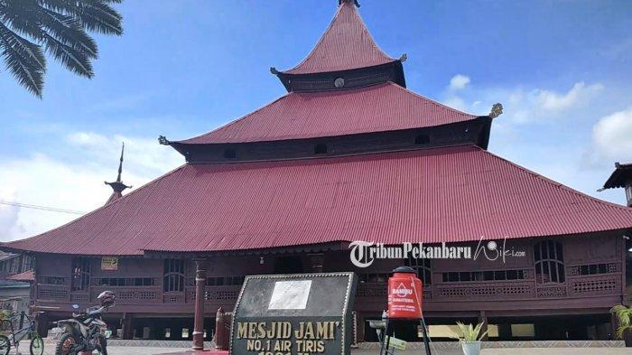 Masjid Jami Air Tiris di Kampar Riau, Masjid Tertua Dibangun Tanpa Paku