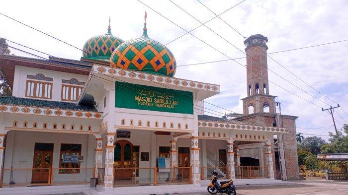 Masjid Sabilillah di Desa Pedekik Bengkalis Riau, Pernah Dikabar Belanda