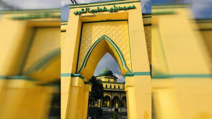 Mesjid Syahabuddin Siak Sri Indrapura, dibangun pada 1926 M pada masa pemerintahan Sultan Syarif Kasim II