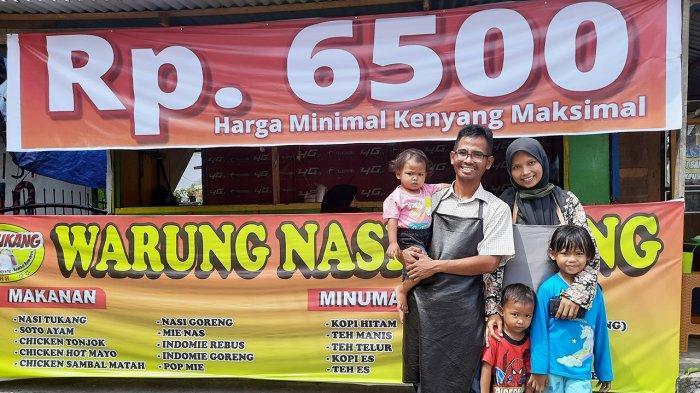 Warung Nasi Tukang, Harga Murah Meriah di Pekanbaru