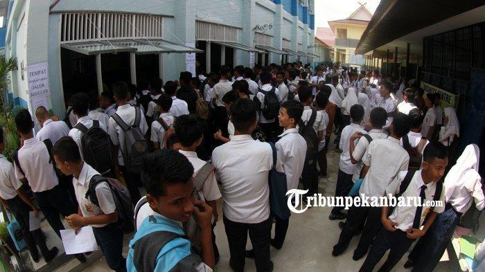 Data Kelulusan SMK di Riau 2021, 73 Siswa Tidak Lulus