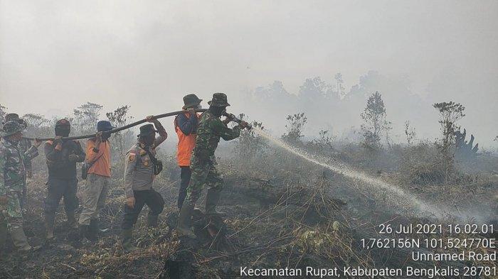 60 Titik Panas Terpantau di Riau