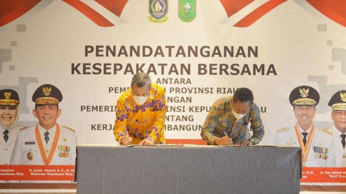 Pemprov Riau Jalin Kerja dengan Kepri, Mulai dari Sektor Pariwisata Hingga Perikanan